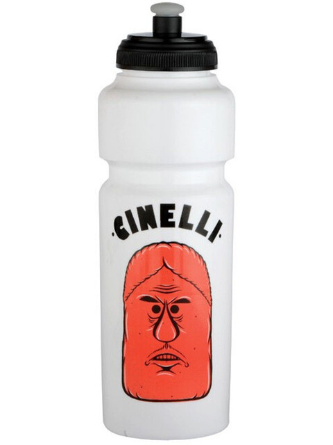 Cinelli Barry Mcgee Drink Bottle 750ml white/black